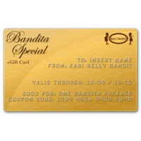 Bandita Special Gift Certificate