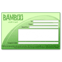 Bamboo Gift Certificate