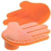 Lulaclips - Magnetic Clip - Orange