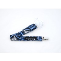 Ah Goo Baby - Pacifier Clip - Blueberry